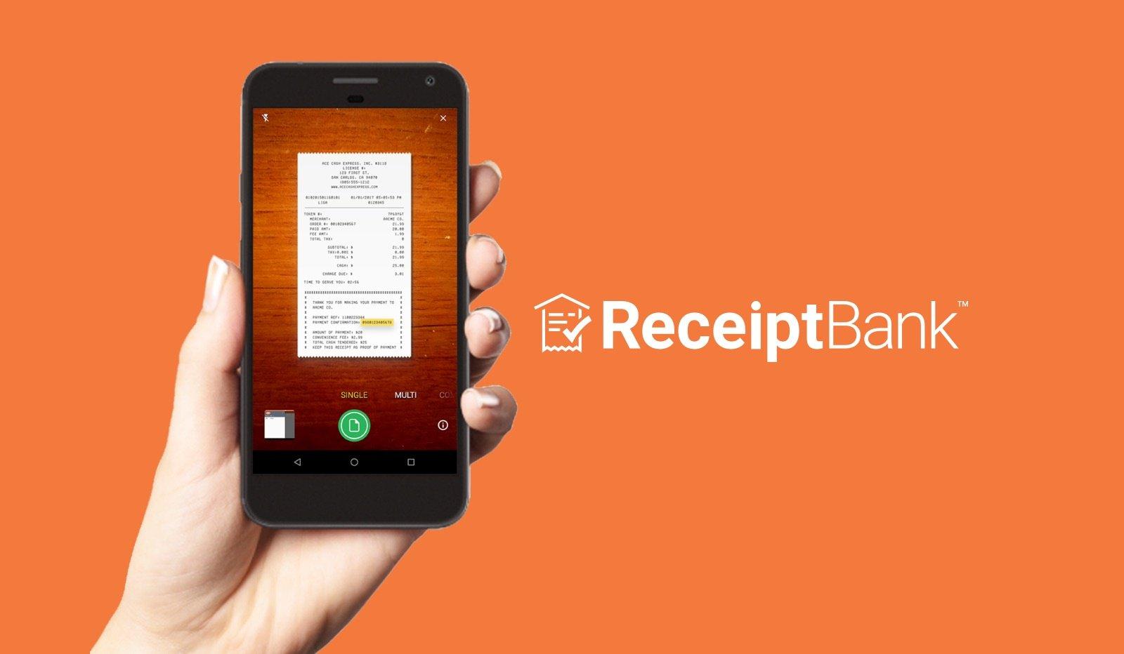 Receipt Bank App
